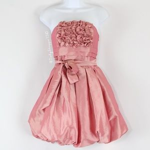 Twenty One Pink Ruffle Formal Dress